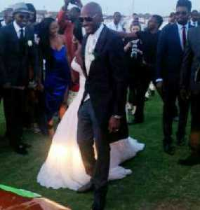 2face and Annie Stepping out