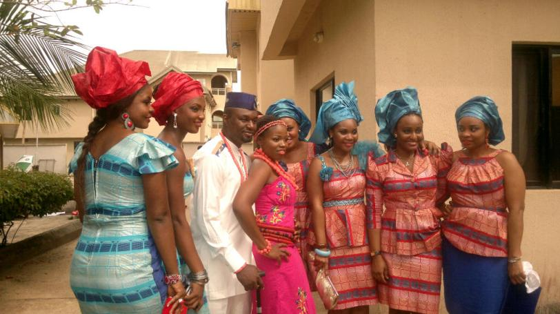The Couple with some Friends n Asoebis