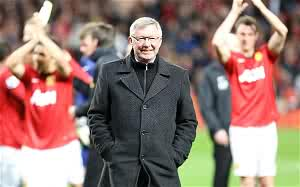 End of an era: Sir Alex Ferguson recently led Manchester United to their 20th league title
